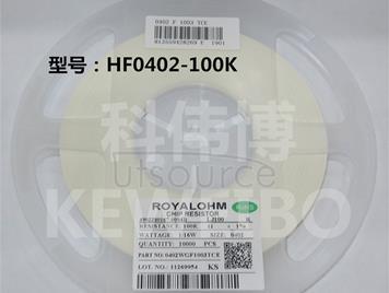 0402 HF 100K 1/16W 1% (1000PCS)