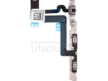 Volume Button & Mute Switch Flex Cable with Brackets for iPhone 6 Plus