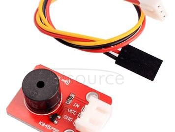 Passive Buzzer Sound Sensor Module with 3 Pin Dupont Line for Computers / Printer / Photocopier / Alarm / Electronic Toy / Automotive