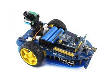Waveshare AlphaBot-Pi (for Europe), Raspberry Pi Robot Building Kit