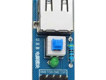 LDTR - B0005 USB Power Converter Module for Arduino Lovers - Blue