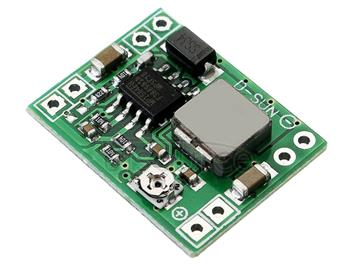 LDTR-WG0206 MP1584EN Ultra-small DC-DC Converter Step Down Module, 4.5V-28V Input 3A Output Current (Green)