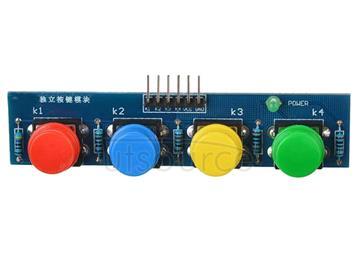 LDTR - Key4 4 Key Touch Button Module 3 - 6V External Keyboard for Arduino