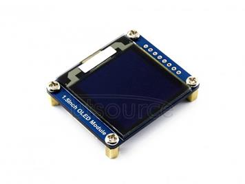 WAVESHARE 128x128 General 1.5inch OLED Display Module 16 Gray Scale with SPI/I2C Interface
