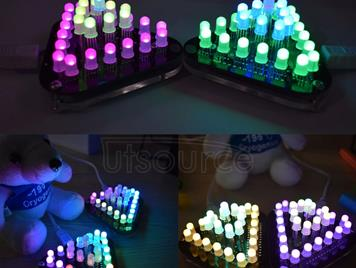 DIY Touch LED Kit Full Color LED Single Chip-making Kit