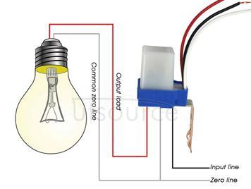 Automatic Switch Sensor Switch Photocell Street Light Switch Control(12V)