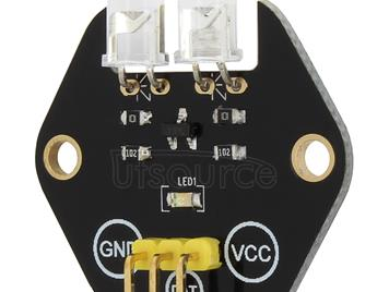 LandaTianrui LDTR-RM024 Double Digital IR Transmitter Module for Arduino (Black)