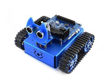 Waveshare KitiBot Tracked Robot Building Kit for micro:bit (no micro:bit)