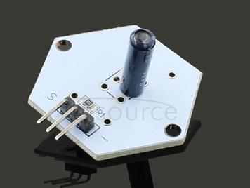 LDTR - 0017 Vibration Switch Sensor Module DC 3.3 - 5V 20mA DIY Part for Arduino - White and Black
