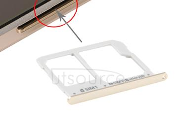 SIM Card Tray and Micro SD Card Tray  for A3(2016) / A3100 & A5(2016) / A5100 & A7(2016) / A7100(Gold)
