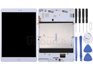 LCD Screen and Digitizer Full Assembly with Frame for Asus ZenPad 3S 10 / Z500M / Z500 / P027 (White)