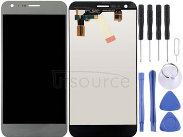 LCD Screen and Digitizer Full Assembly for LG X Cam / K580 / K580I / K580Y (Silver)