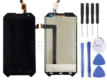 LCD Screen and Digitizer Full Assembly for Blackview BV6000(Black)