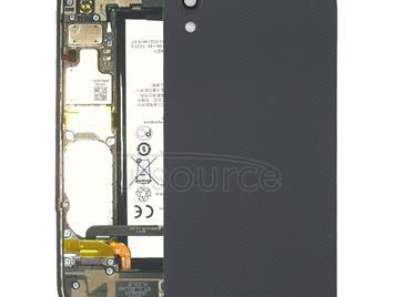 Back Cover with Camera Lens for Blackberry DTEK50(Black)