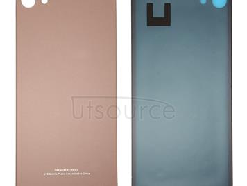 For Meizu U10 / Meilan U10 Glass Battery Back Cover with Adhesive(Rose Gold)