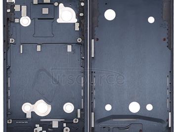 Front Housing LCD Frame Bezel Plate for HTC U11(Black)