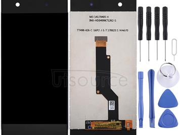 LCD Screen and Digitizer Full Assembly for Sony Xperia XA1(Black)