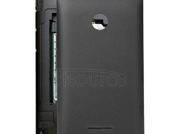 Battery Back Cover  for Microsoft Lumia 435(Black)