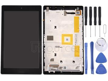 LCD Screen and Digitizer Full Assembly with Frame for Asus ZenPad C 7.0 / Z170MG (Black)
