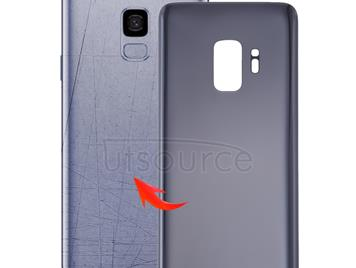 Back Cover for Galaxy S9 / G9600(Grey)