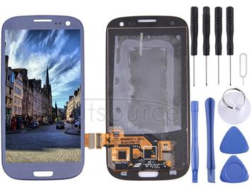 Original LCD Screen and Digitizer Full Assembly for Galaxy SIII / i9300(Dark Blue)