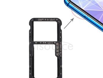 SIM Card Tray for Huawei P smart + / Nova 3i(Black)