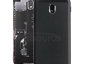 Back Cover for Galaxy J3 (2017), J3 Pro (2017), J330F/DS, J330G/DS(Black)