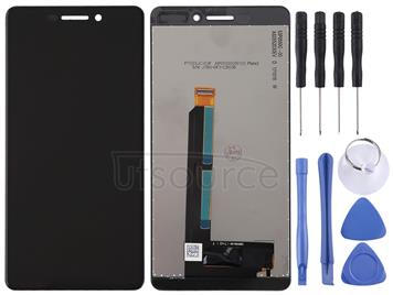 LCD Screen and Digitizer Full Assembly for Nokia 6 2018 / 6.1 SCTA-1043 TA-1045 TA-1050 TA-1054 TA-1068(Black)