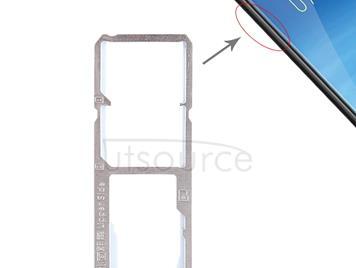 2 x SIM Card Tray + Micro SD Card Tray for Vivo Y75(Blue)