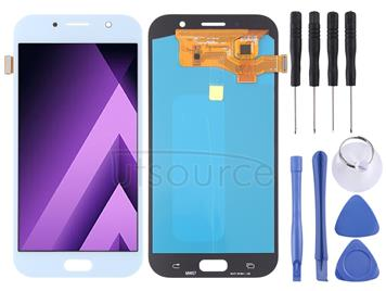 LCD Screen and Digitizer Full Assembly (OLED Material ) for Galaxy A7 (2017), A720F, A720F/DS(Blue)
