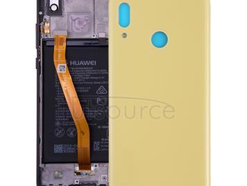 Back Cover for Huawei Nova 3(Yellow)
