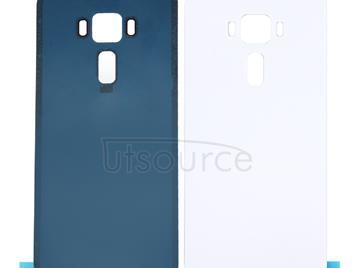 for ASUS ZenFone 3 / ZE552KL 5.5 inch Glass Back Battery Cover(White)