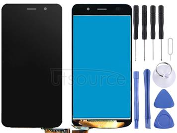 For Huawei Honor 4A / Y6 LCD Screen and Digitizer Full Assembly(Black)