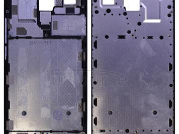 Middle Frame Bezel Plate for Meizu M6 Note / Meilan Note 6 (Black)