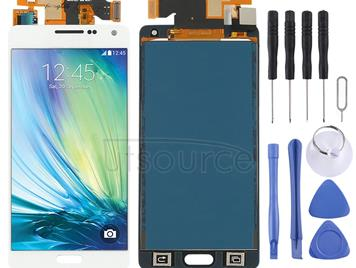 LCD Screen and Digitizer Full Assembly (TFT Material) for Galaxy A5, A500F, A500FU, A500M, A500Y, A500YZ (White)