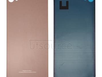 For Meizu U20 / Meilan U20 Glass Battery Back Cover with Adhesive(Rose Gold)