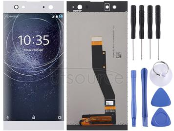 LCD Screen and Digitizer Full Assembly for Sony Xperia XA2 Ultra(Silver)