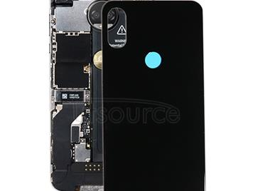 Battery Back Cover for Motorola One Power (P30 Note) (Black)