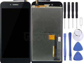 LCD Screen and Digitizer Full Assembly  for Asus PadFone S PF500KL / PF-500KL / PF500 / T00N(Black)