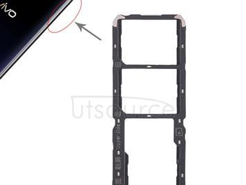 2 x SIM Card Tray + Micro SD Card Tray for Vivo Y97(Black)