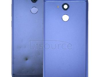 For Huawei Honor V9 Play Battery Back Cover(Blue)