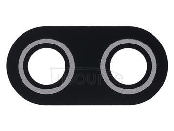 10 PCS Back Camera Lens Cover for Asus ZenFone Max Plus(M1) X018DC Pegasus 4s ZB570TL 5.7 inch (Black)