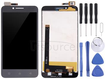 LCD Screen and Digitizer Full Assembly for Lenovo VIBE C / A2020(Black)