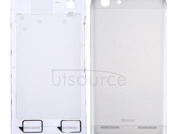 For Lenovo Vibe K5 / A6020 Battery Back Cover(Silver)