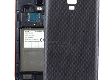 Original Battery Back Cover for Galaxy S4 Active / i537(Black)