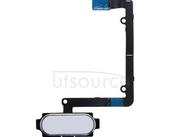 Home Button Flex Cable with Fingerprint Identification for Galaxy A5 (2016) / A510(White)