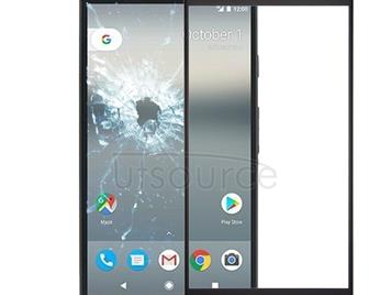 Front Screen Outer Glass Lens for Google Pixel XL (Black)
