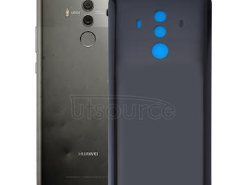 For Huawei Mate 10 Pro Back Cover(Black)