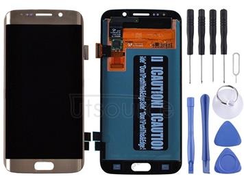 Original LCD Display + Touch Panel for Galaxy S6 edge / G925, G925F, G925FQ, G925I, G925A, G925T, G925S, G925K, G925L, G9250(Gold)