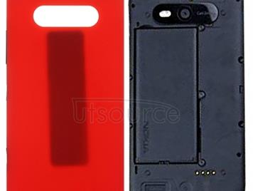 Back Cover for Nokia Lumia 820 (Red)